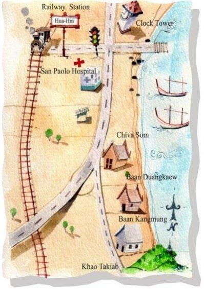 Map - Baan Kang Mung